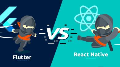 تصویر مقایسه ری اکت نیتیو (React Native) و فلاتر (Flutter) – کدام برنده است ؟