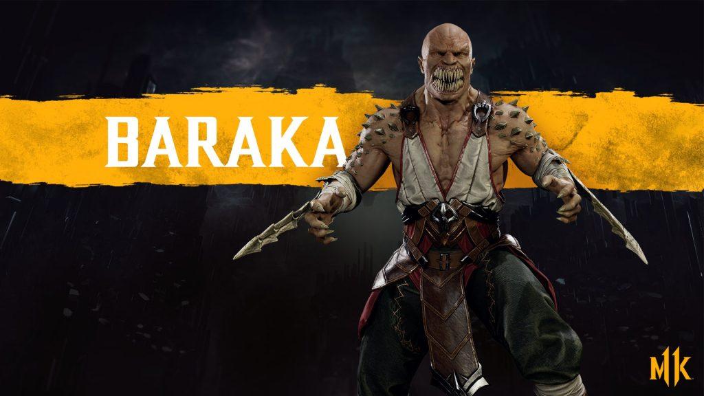شخصیت Baraka در بازی Mortal Kombat 11