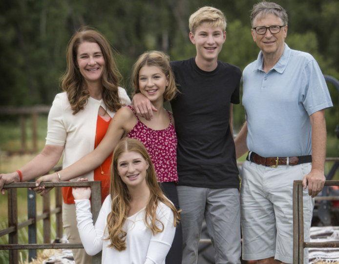 خانواده بیل گیتس - Bill Gates Family