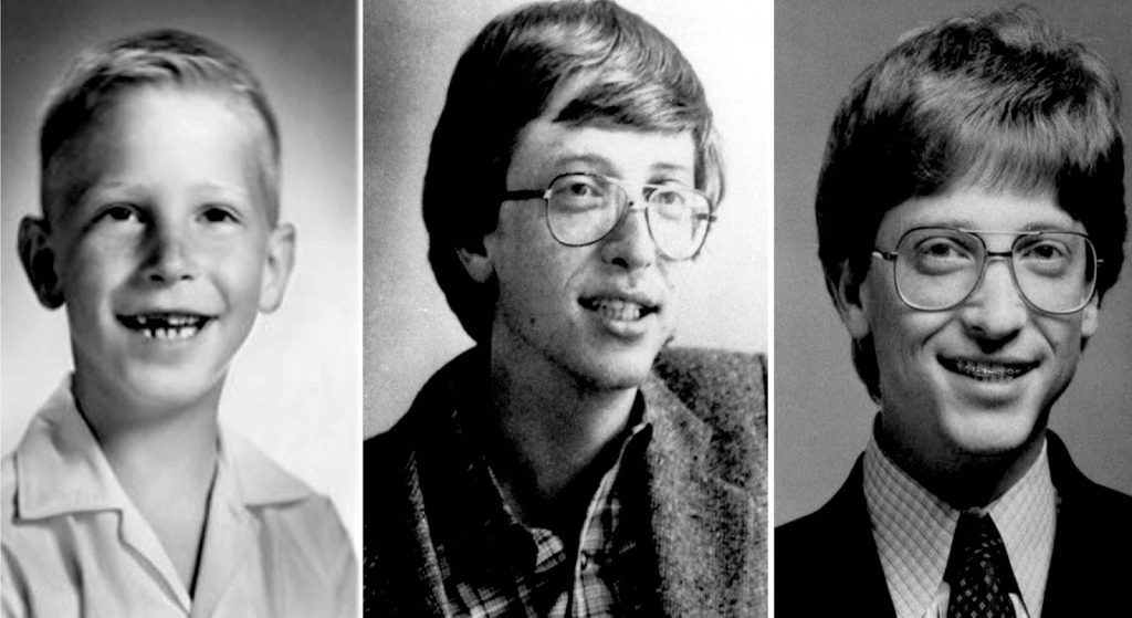 بیل گیتس در جوانی - Bill Gates in his youth