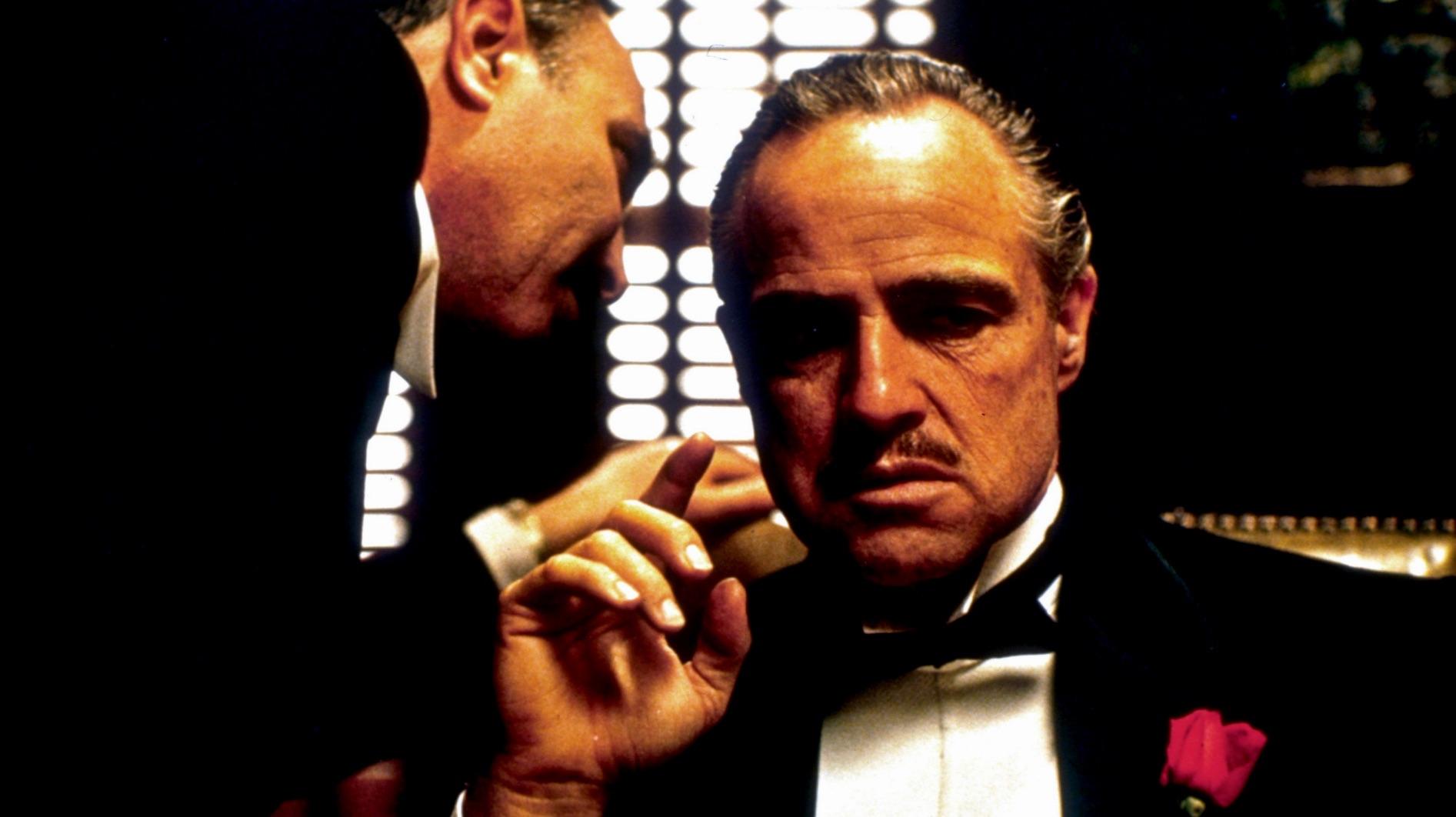 دون ویتو کورلئونه بازیگری مارلون براندو - Don Vito Corleone With Marlon Brando
