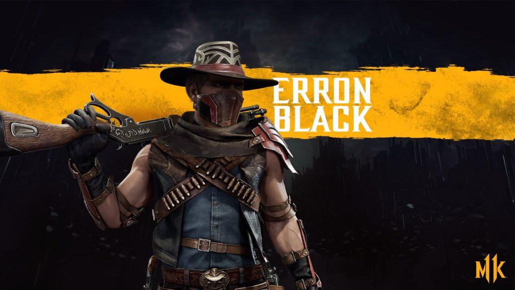 شخصیت Erron Black در بازی Mortal Kombat 11