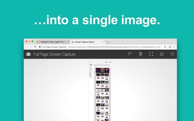 افزونه Full Page Screen Capture