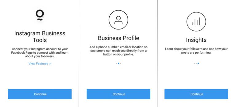 راهنمایی استفاده از پروفایل تجاری اینستاگرام