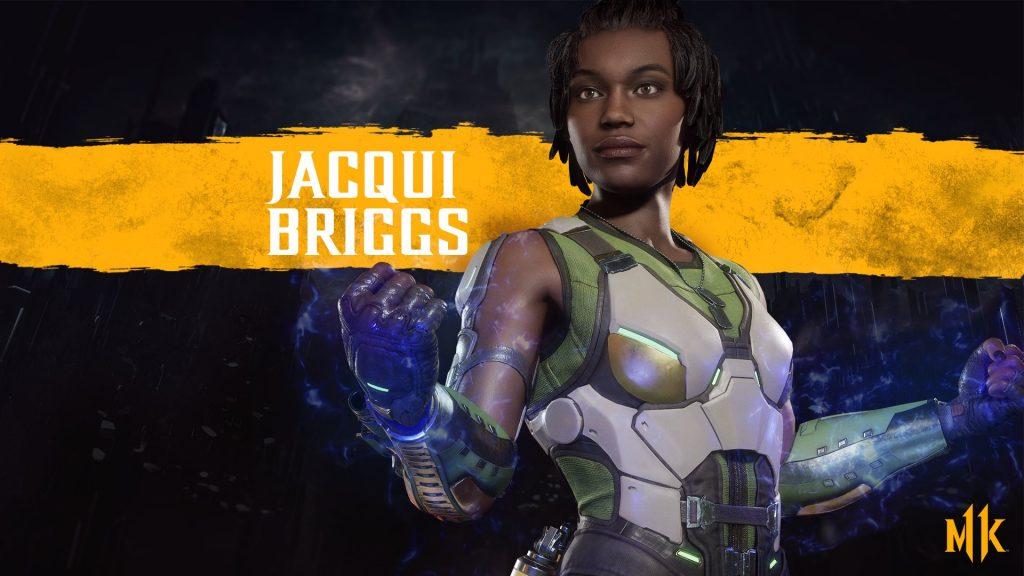 شخصیت Jacqui Briggs در بازی Mortal Kombat 11