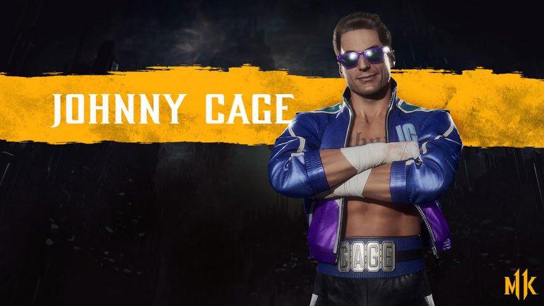 شخصیت Johnnny Cage در بازی Mortal Kombat 11