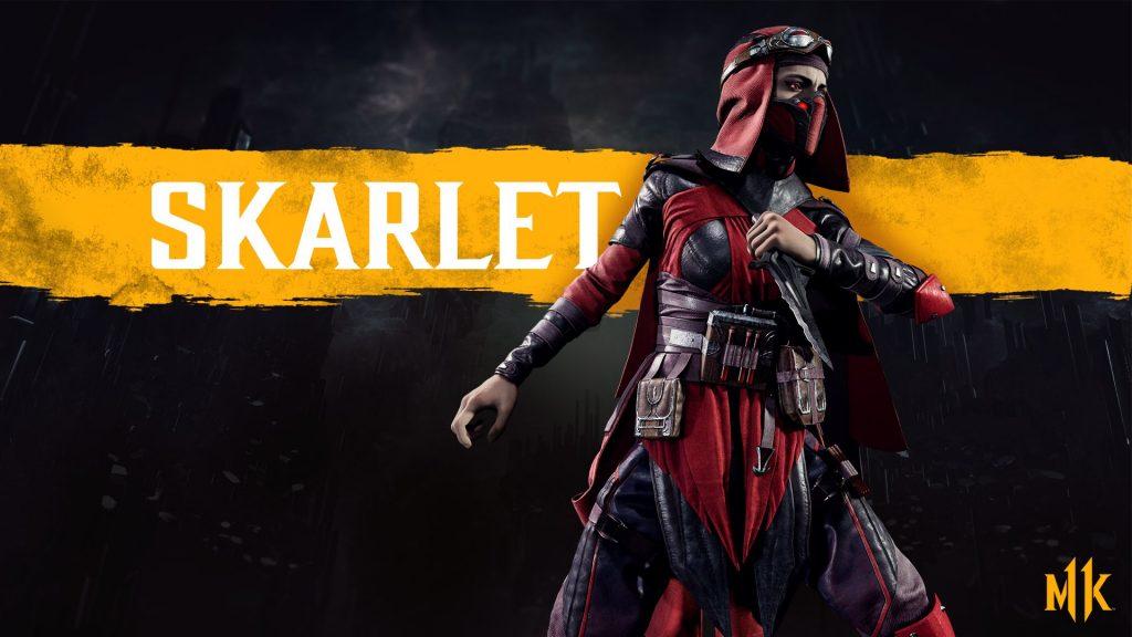 شخصیت Skarlet در بازی Mortal Kombat 11