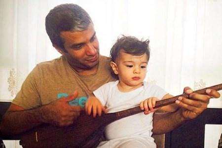 آریا عظیمی نژاد و پسرش