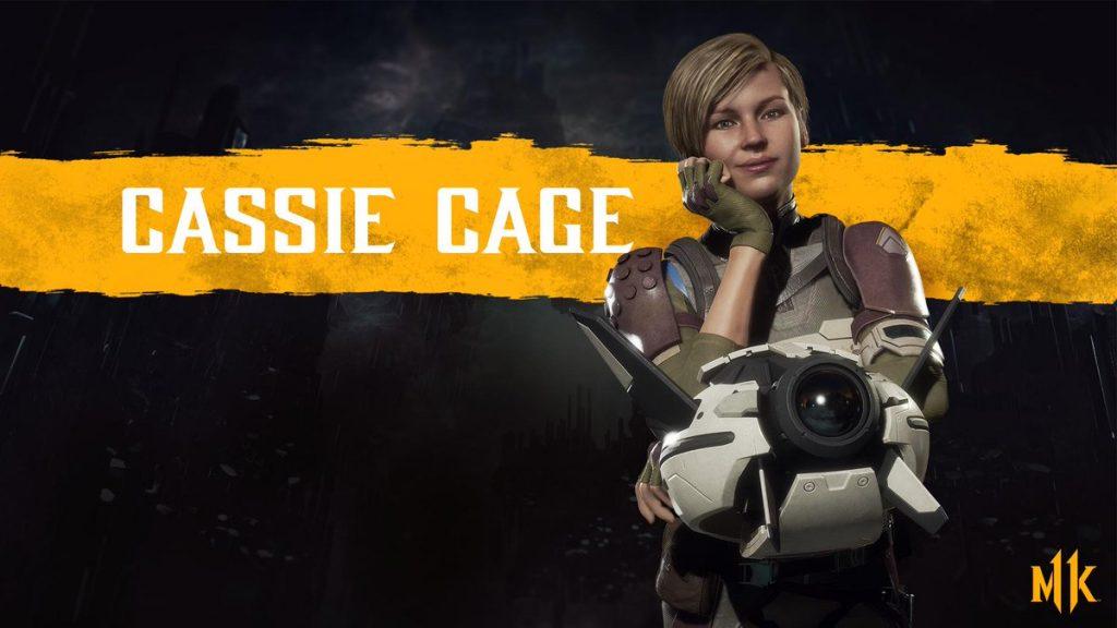 شخصیت cassie cage در بازی Mortal Kombat 11