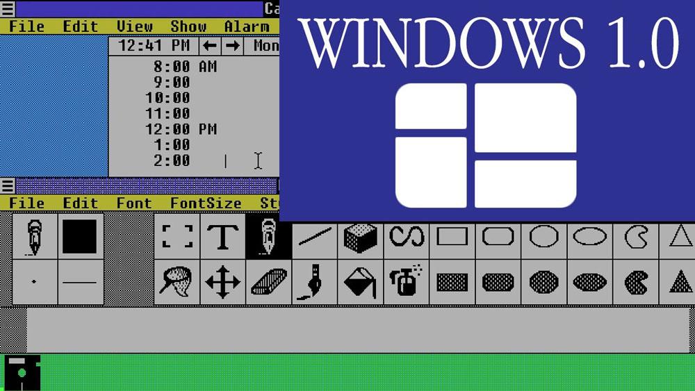 اولین نسخه ویندوز
