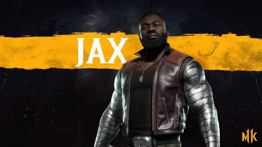 شخصیت jax در بازی Mortal Kombat 11