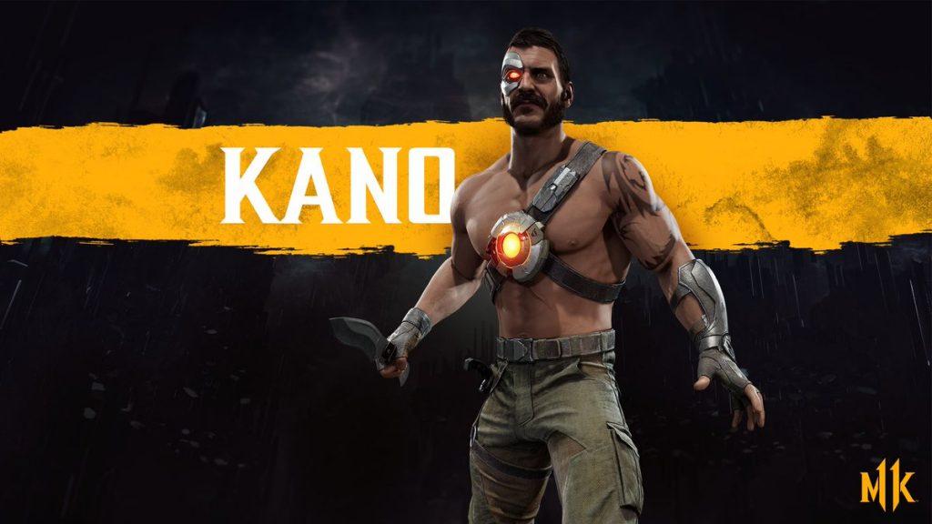 شخصیت Kano در بازی Mortal Kombat 11