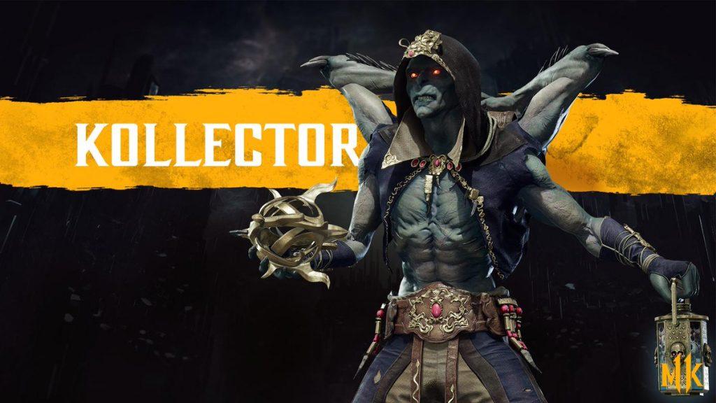 شخصیت kollector در بازی Mortal Kombat 11