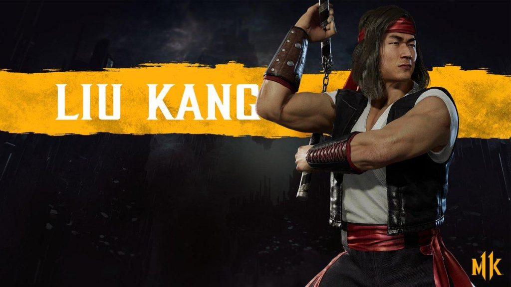شخصیت liu kang در بازی Mortal Kombat 11