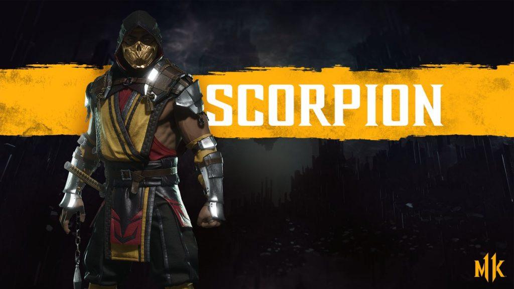 شخصیت scorpion در بازی Mortal Kombat 11