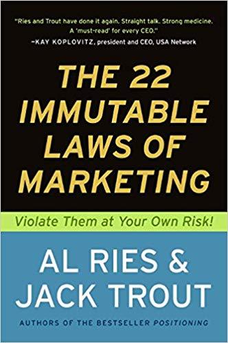 کتاب ۲۲ قانون تغییر ناپذیر بازاریابی