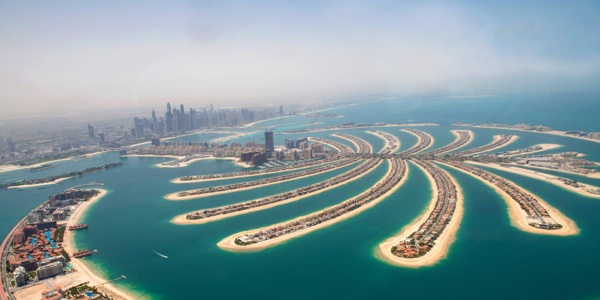 جزایر نخل دبی