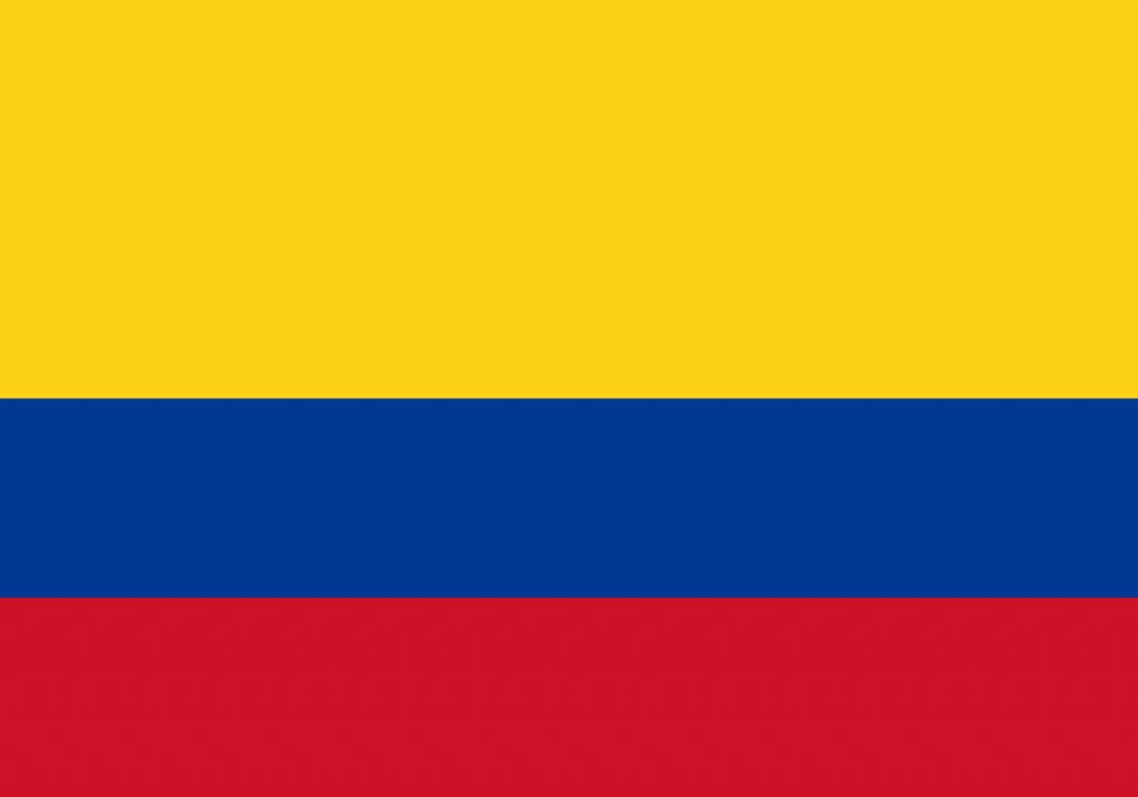 پرچم کلمبیا
