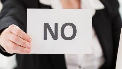 تصویر مهارت نه گفتن را همین حالا بیاموزید – 10 روش تقویت قدرت نه گفتن