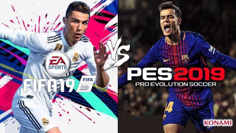 pes 2019 یا fifa 2019