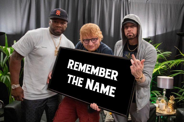 متن آهنگ Remember the name از Ed Sheeran به همراه Eminem و 50 Cent