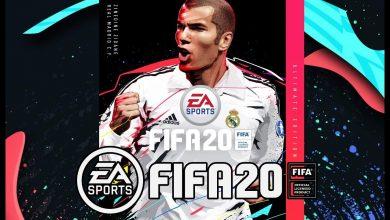 تصویر کاور نسخه Ultimate Edition بازی FIFA 20 مشخص شد ؛ زیدان افسانه ای بر روی جلد فیفا 20