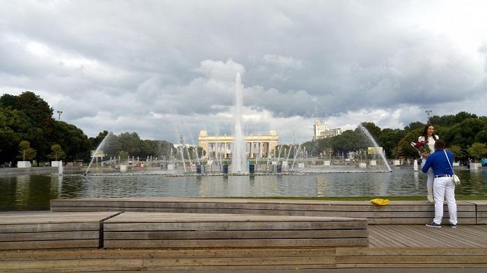 پارک گورکی مسکو روسیه