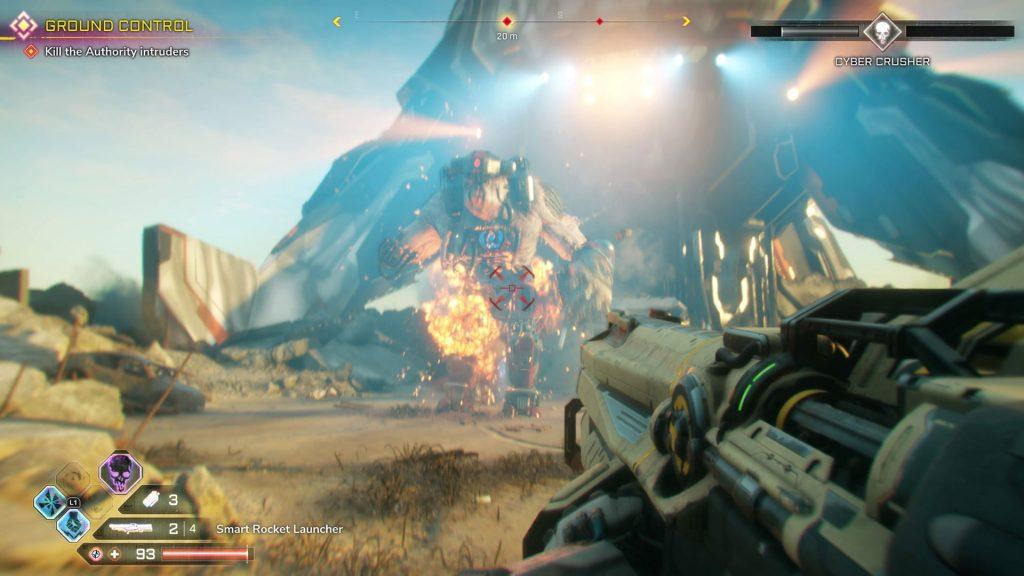 گیم پلی بازی Rage 2