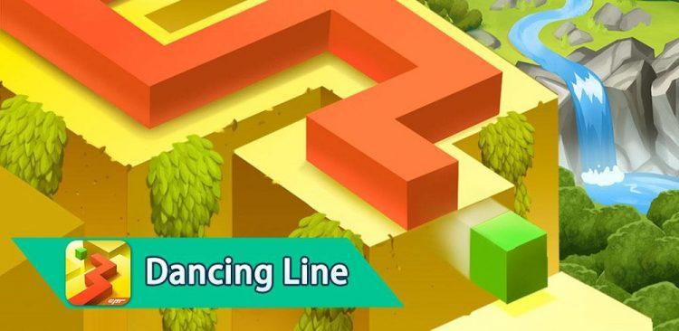بازی رقص روی خطوط