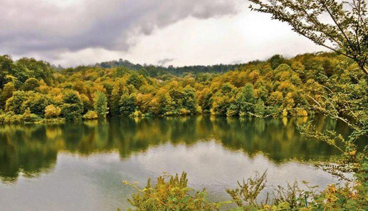دریاچه الیمالات نور مازندران