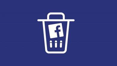 تصویر آموزش حذف اکانت فیسبوک Facebook به صورت دائمی و موقت