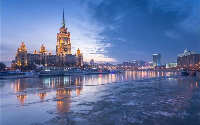 شهر مسکو روسیه
