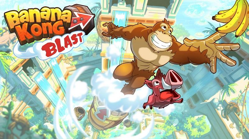 بازی Banana Kong Blast