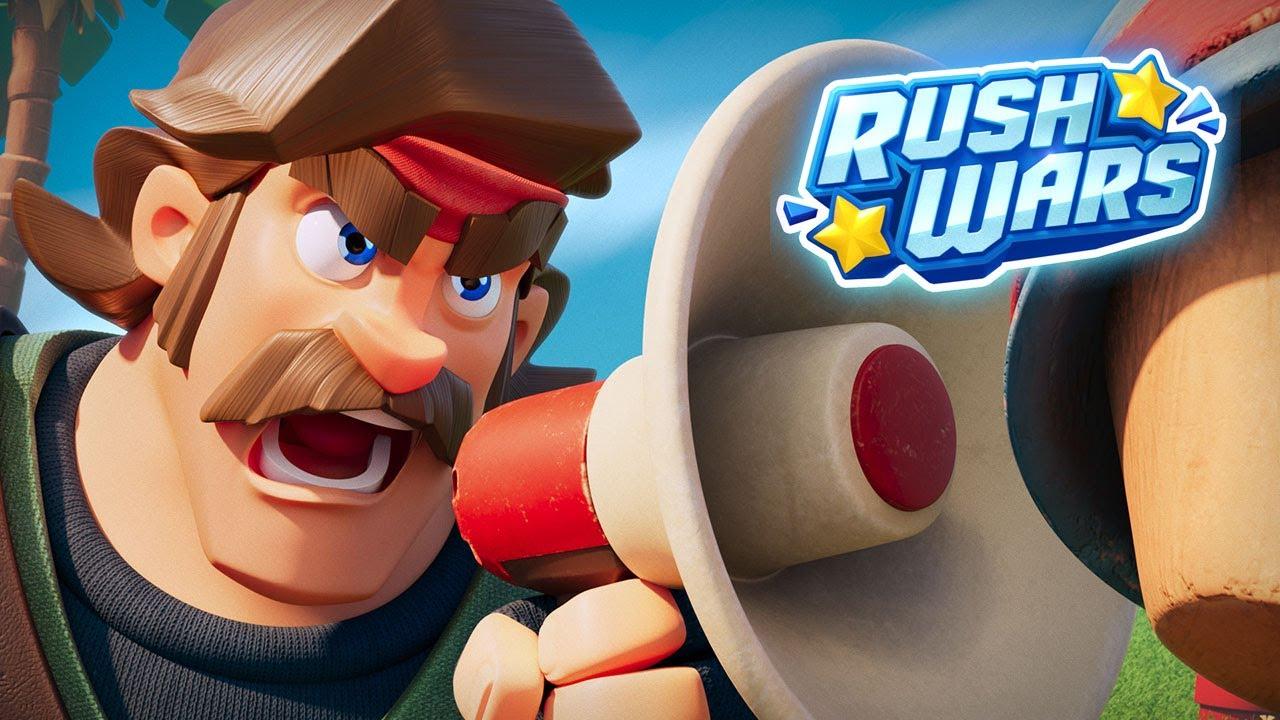 بازی Rush Wars راش وارز