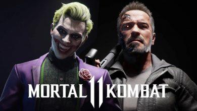 تصویر جوکر و ترمیناتور به بازی Mortal Kombat 11 اضافه می شوند