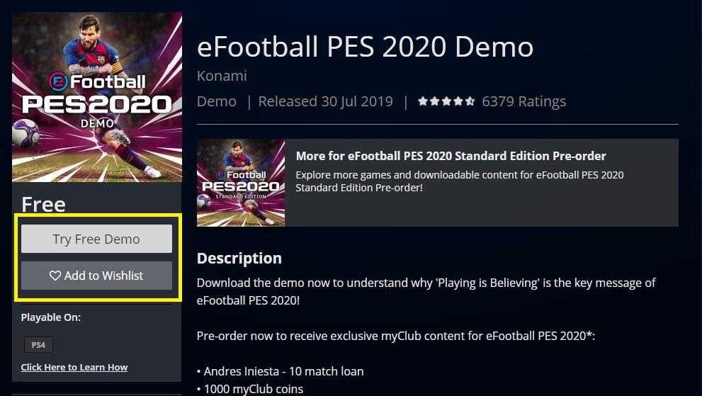 آموزش دانلود و نصب بازی Pes 2020 در کنسول پلی استیشن 4 - PS4
