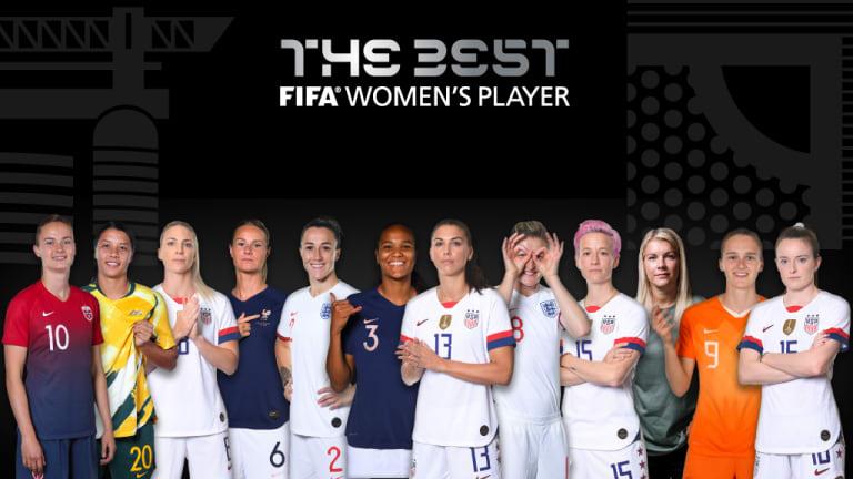 نامزدهای بهترین بازیکنان فوتبال زنان