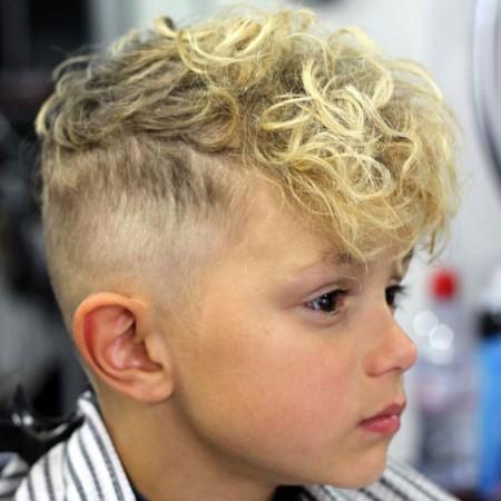 مدل موی شلوغ برای پسر بچهها