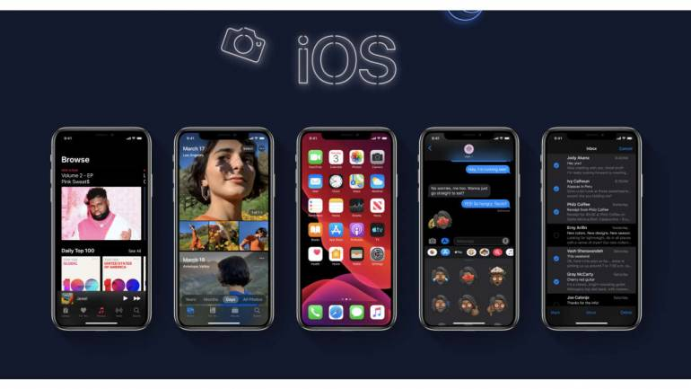 ویژگی های سیستم عامل iOS 13