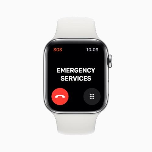 تماس اضطراری بین المللی اپل واچ 5