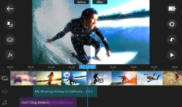 نرم افزار ویرایش ویدیو اندروید PowerDirector Video Editor App