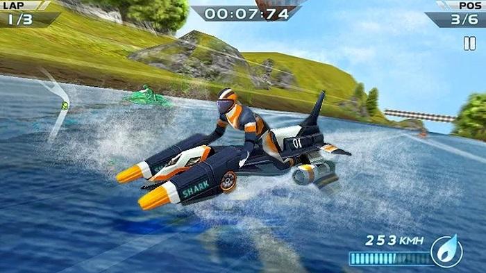 بازی مسابقه ماشین  Powerboat Racing 3D