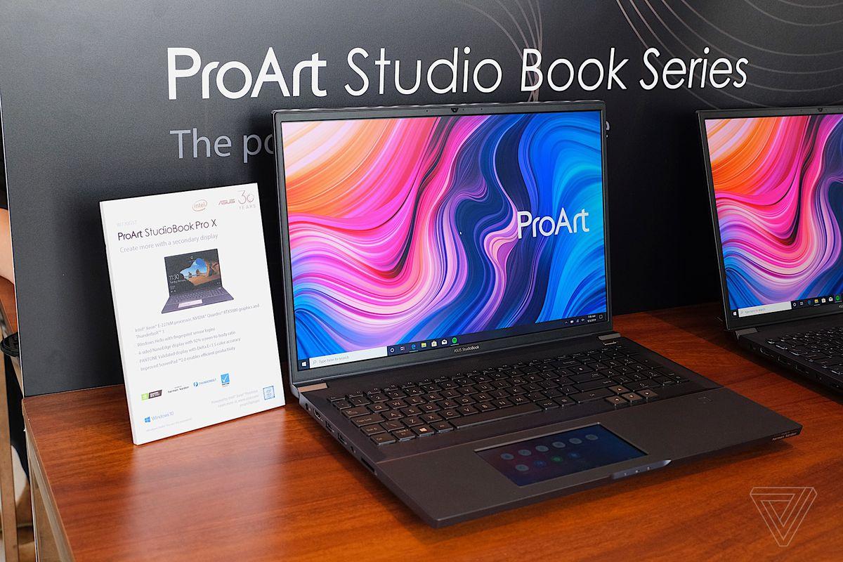 لپ تاپ های سری جدید ایسوس ProArt StudioBook