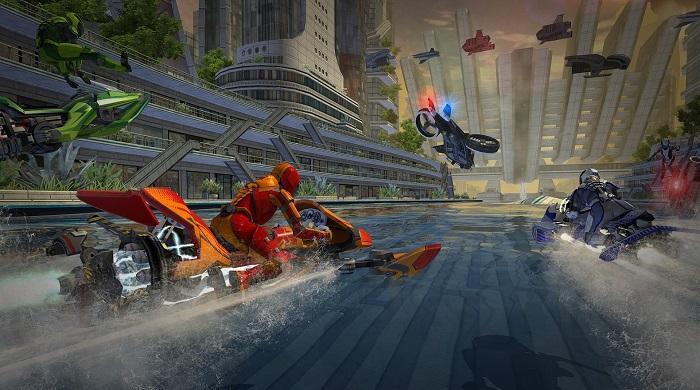 بازی مسابقه ماشین جنگی Riptide GP: Renegade