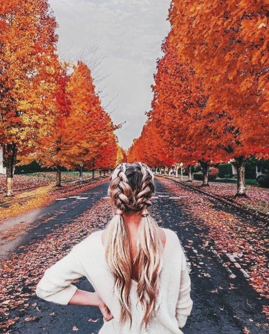 عکس دخترونه پاییز