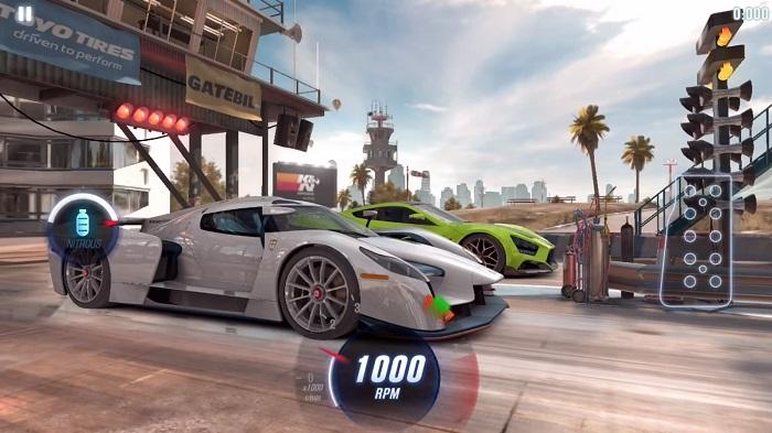 بازی اتومبیلرانی CSR Racing 2