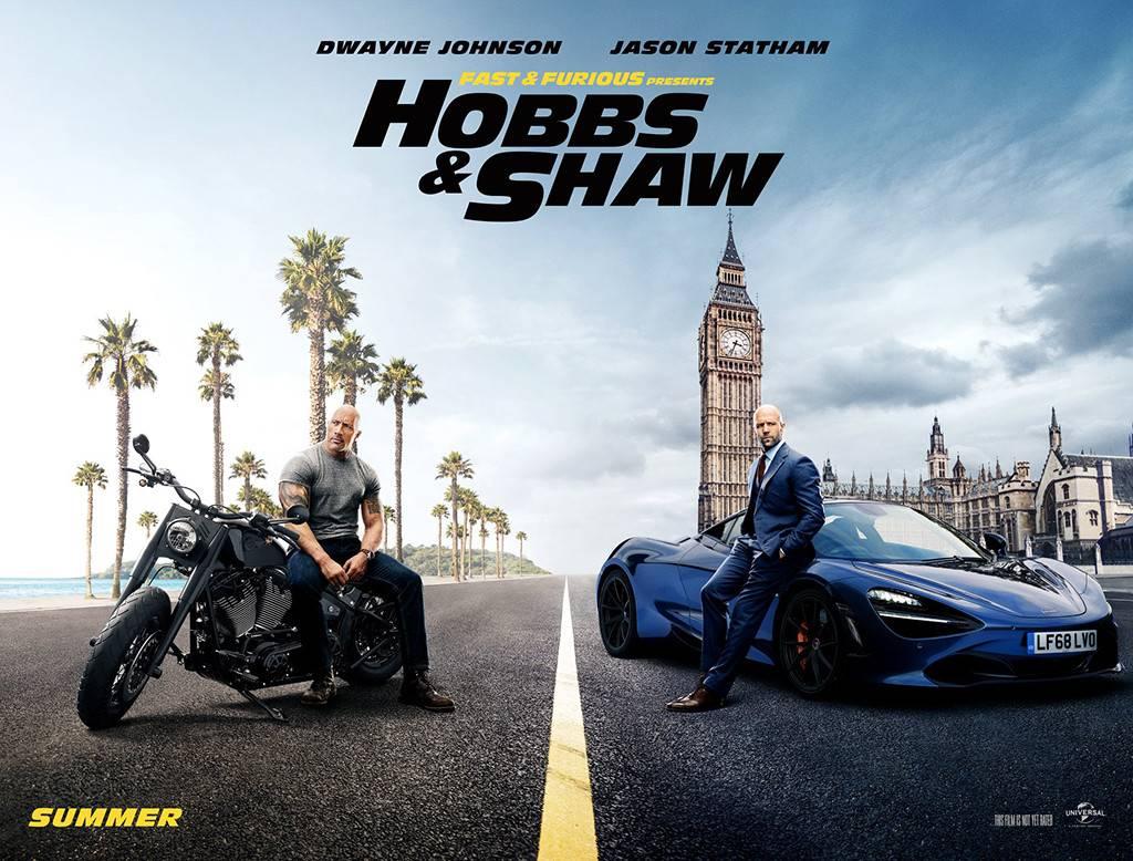 تاریخ انتشار نسخه بلوری فیلم Fast and Furious Presents: Hobbs and Shaw