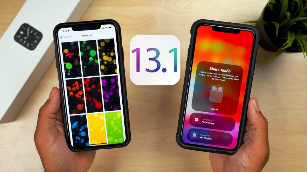 بروز رسانی جدید سیستم عامل iOS 13.1