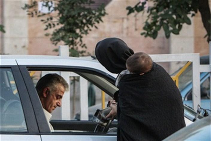 متکدیان در تهران