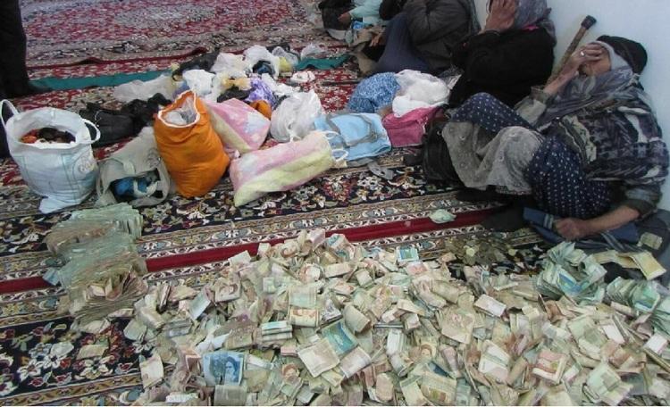 درآمد میلیاردی متکدیان تهران